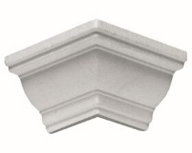 Angolo esterno in polistirene estruso IA702E per cornice I702 3x3 cm