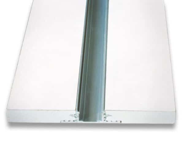 Elemento in cartongesso con profilo per led GYPSOCOMETE LINE