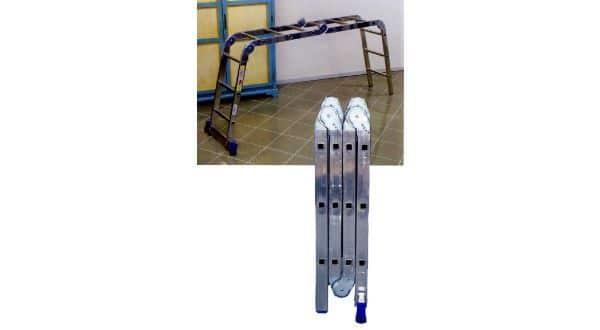 Scala multiposizione in alluminio professionale Marchetti Forma 43
