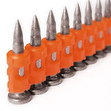 Chiodi HC6 in acciaio per legno acciaio calcestruzzo per Spit Pulsa 800P/800E - vari spessori confezione 500pz+1 Gas