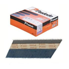 Chiodi 2.8x75 mm lisci per chiodatrice Paslode IM90 CI - confezione da 2500 pezzi + 2 bombole gas