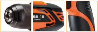 Avvitatore per tasselli legno e profilati a batteria 18 Volt / 2Ah Spit BS 18 Litio