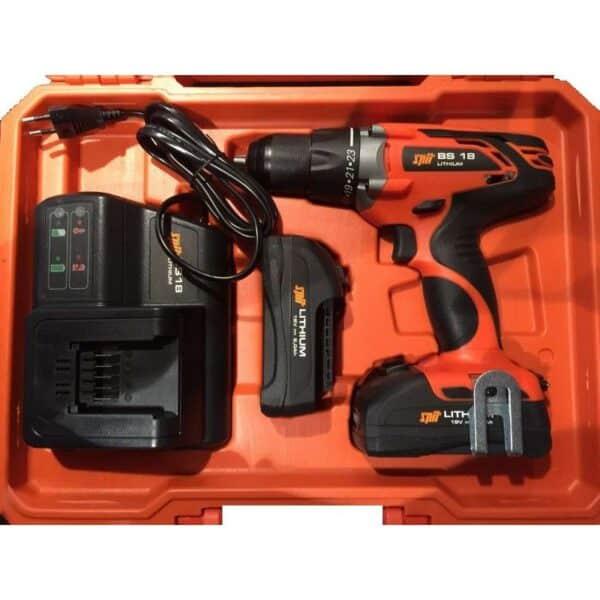 Avvitatore a batteria per tasselli legno e profilati 18 Volt / 4Ah Spit BS 18 Litio