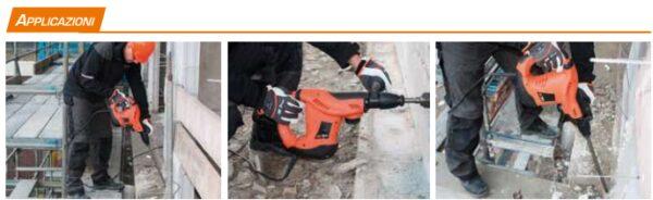 Martello elettropneumatico demolitore Spit 493 SDS MAX