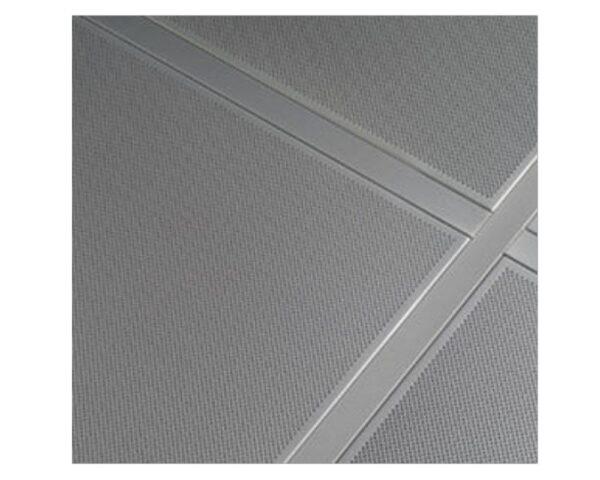Pannello controsoffitto 60x60 in lamiera con foratura totale ITP Star Metal Argento