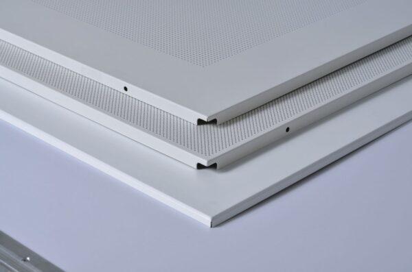 Pannello controsoffitto Lay-On in lamiera non forato ITP Star Metal - Spessore 9mm- Dimensioni 60x60 cm- Conf.20pz