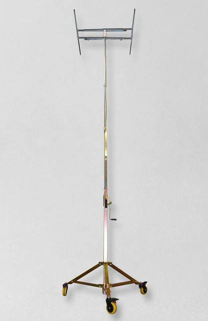 Alzalastre cartongesso akifix a cremagliera ruote retrattili e smontabili maxi alzata H MAX 5.9 m Tytanus GARANZIA 24 MESI