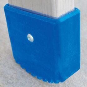 Tacco esterno blu montante 60x25 mm per Marchetti Agril - A1 - AL - Biblio
