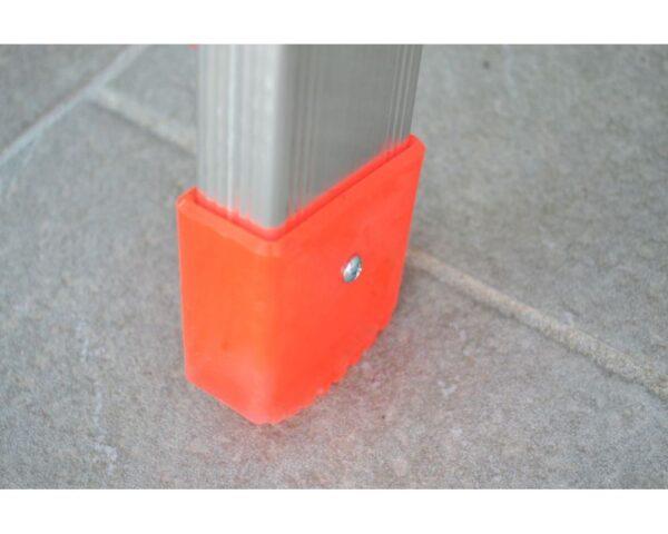 Tacco esterno arancio montante 60x25 mm per Marchetti OR1