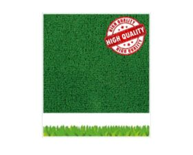 Tappeto erba sintetica verde altezza 2 metri spessore 8 mm Europarati Eurogreen