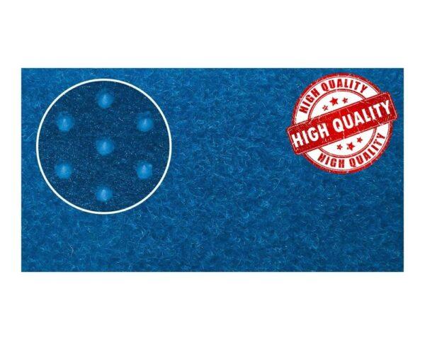 Tappeto agugliato finta erba colore blu per esterno Europarati Cricket