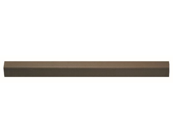Profilo angolare 28x28 mm in polistrutturato stile liscio classico Bovelacci PA28 - noce