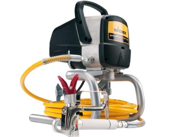 Macchina spruzzatrice airless per pitture a base acqua o solvente per piccoli lavori Wagner Power Painter 60