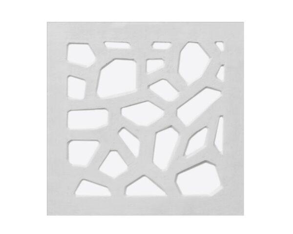"""Pannello decorativo retroilluminato in gesso 50 x 50 cm PR Group """"Spider Lh"""" + kit installazione"""