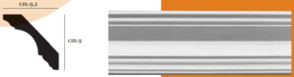 Angolo a sguscia per pareti interne PR Group Artegesso Art. 44