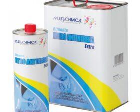Diluente antinebbia per fondi e finiture alla nitro Multichimica Nitro Extra- vari formati