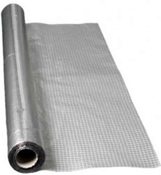Barriera al vapore in alluminio puro Over-All Miofol 125 AV