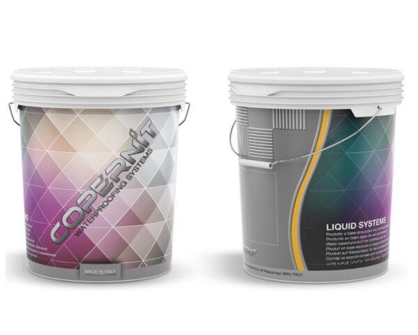 Guaina liquida impermeabilizzante colorata elastometrica all'acqua Coperbit Color