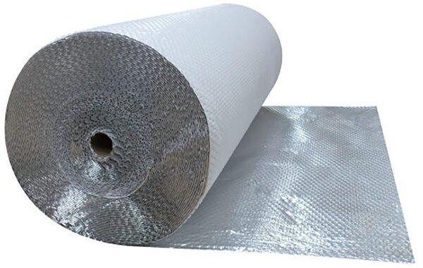 Telo riflettente e traspirante in alluminio puro Over-Foil Clima - rotolo 32 m
