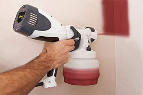 Pistola a spruzzo per pareti e soffitti per smalti pitture lavabili e al quarzo Wagner W400 + Wood&Metal