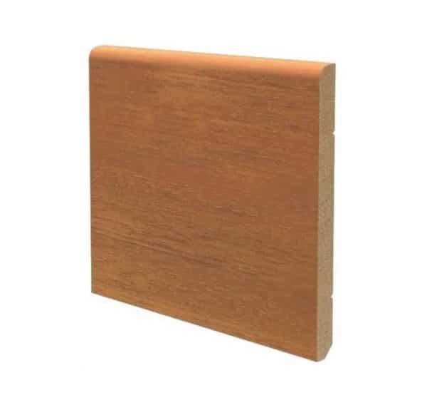 Battiscopa in legno ayous 120x10 mm lunghezza 2 metri Toscan Stucchi Art.606 - ciliegio