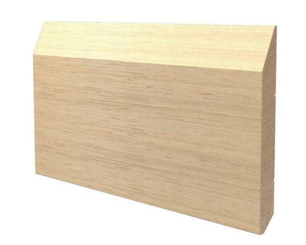 Battiscopa in legno ayous grezzo 160x18 mm lunghezza 2 metri Toscan Stucchi Art.651