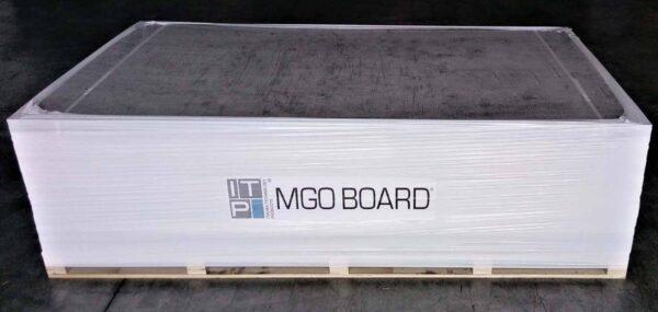 Lastra in fibrocemento per esterno resistente all'umidità ITP MGO Board - 120x200 cm spessore 1.25 cm