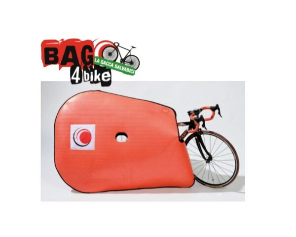 Sacca morbida in polietilene espanso per protezione bicicletta IsoFom BAG4BIKE Plus