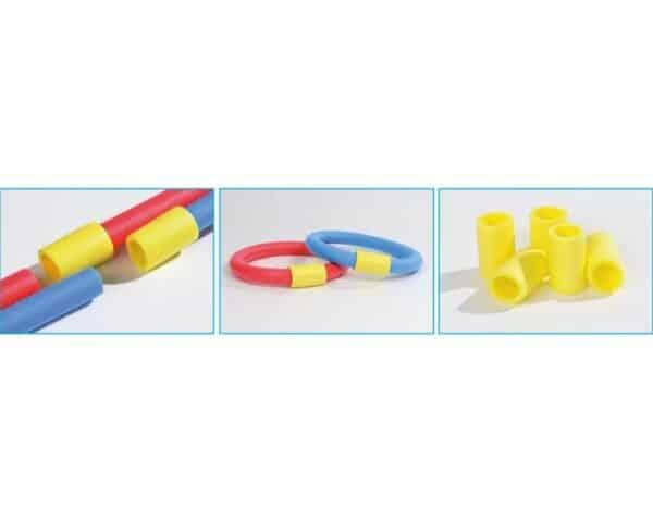 Connettore per tubo in polietilene da mare, piscina e ginnastica in acqua IsoFom Waterfun