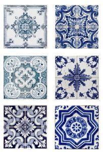 Stickers in vinile per tutte le superfici 10x10 cm Decorama Sticky-Tile - 6pz