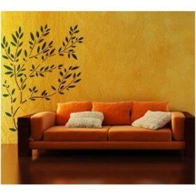 """Maxi stencil """"Olive"""" per tutte le superfici 105 x 105 cm Decorama"""