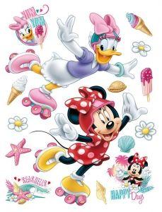 """Maxi sticker XXL da parete per bambini """"Minnie & Daisy"""" Decorama"""