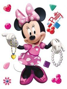 "Maxi sticker XXL da parete per bambini ""Minnie"" 58 x 80 cm Decorama"