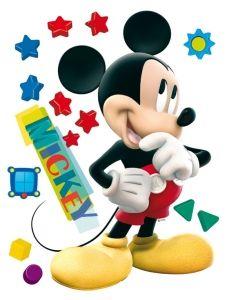 """Maxi sticker XXL da parete per bambini """"Mickey"""" Decorama"""