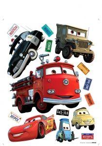 """Maxi sticker XXL da parete per bambini """"cars"""" Decorama"""