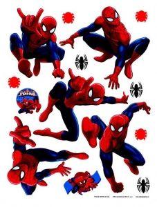 """Maxi sticker XXL da parete per bambini """"spiderman"""" Decorama"""
