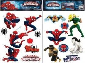 """Maxi sticker XL da parete per bambini """"spiderman"""" 45x65 cm Decorama"""