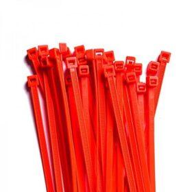 Fascette standard stringicavo rosse 2,5 x 98 mm - conf. 100pz