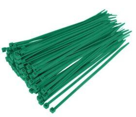 Fascette standard stringicavo verdi 2,5 x 98 mm - conf. 100pz