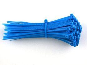 Fascette standard stringicavo blu 2,5 x 98 mm - conf. 100pz