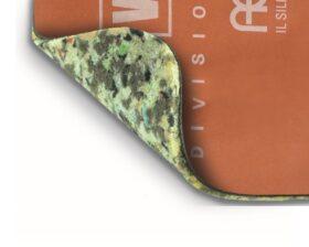 Materassino in agglomerato di poliuretano accoppiato a membrana bituminosa caricata Aesse 3000 PLUS rotolo da mq.6.30