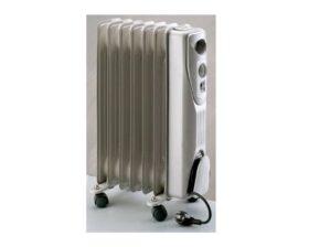 Radiatore elettrico ad olio con ruote con 7 elementi riscaldanti Plein Air Holly 1500