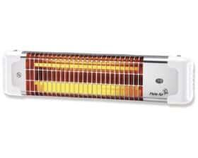 Stufa elettrica al quarzo da parete con inclinazione regolabile Plein Air Reglette