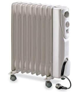Radiatore elettrico ad olio con ruote 9 elementi riscaldanti Plein Air Holly 2000