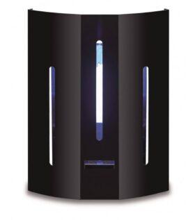 Lampada insetticida da parete igienica compatibile con normativa HACCP ideale per locali Trap 1 Plein Air