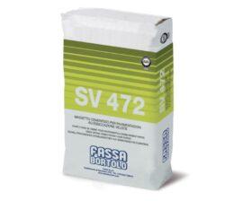 Massetto a base cementizia ad essiccazione veloce per pavimenti interni Fassa SV472