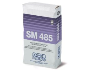 Autolivellante rapido a base cementizia per spessori da 3 a 30 mm per p Fassa SM485 - sacco 25 kg