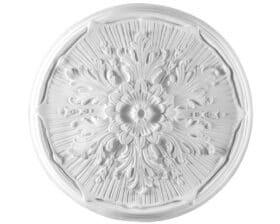 Rosone in gesso colore bianco diametro 52 cm Toscan Stucchi Linea Gesso Art. 245
