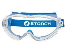 Occhiali di protezione integrale antigraffio antiappannamento protezione uv Storch Craftsman