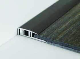 Profilo perimetrale in alluminio per laminato h 7 e 8 mm Baufloor - conf. 20 pz